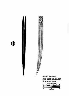 Artifact Drawing - Razor Sheath