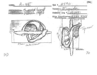 Artifact Drawing - Sword Hilt